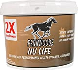 PENNWOODS EQUINE PRODUCTS 120767 Nu Life 2X Breeding and Vitamin Horse Supplement, 4 lb