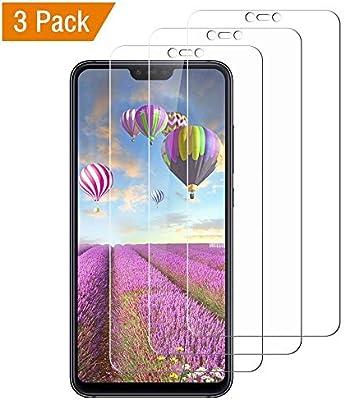 Flysee Cristal Templado Xiaomi Mi 8 Lite, [3-Unidades] Protector ...