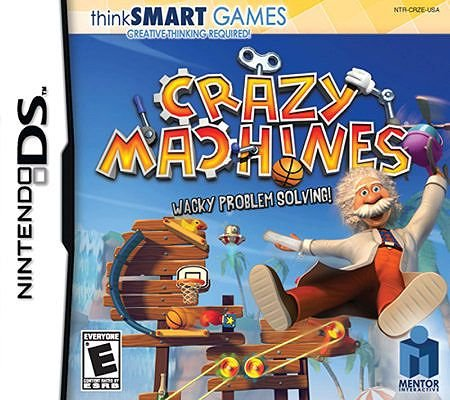 ThinkSmart: Crazy Machines - Nintendo DS (For Game 4 Old Ds Year)