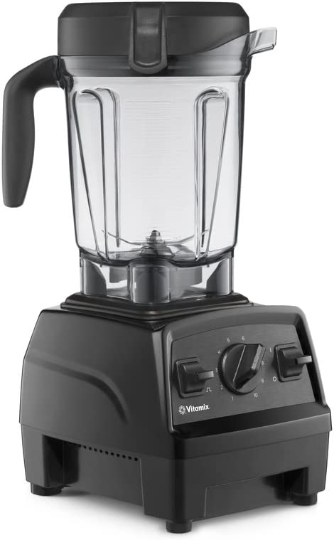 Vitamix Explorian Blender, Professional-Grade, 64 oz. Low-Profile Container, Black - 65542 (Renewed)