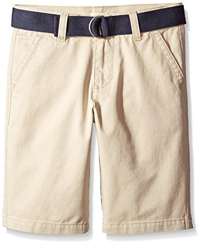 Scout Uniform Shorts (Scout + Ro Big Boys' Twill Short, Travertine Khaki, 8)