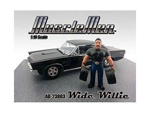 Musclemen Wide Willie Figurine for 1 18 Scale Diecast Car Models by American Diorama 23803 by American Diorama