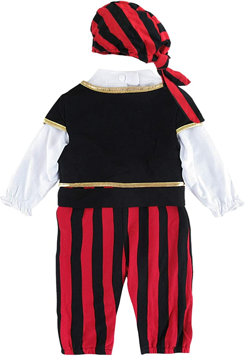 MOMBEBE COSLAND Monos para Beb/é Ni/ños Disfraz de Vaquero Algod/ón con Sombrero