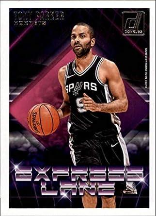 71327a34f369 2018-19 Donruss Express Lane  22 Tony Parker Charlotte Hornets NBA  Basketball Trading Card