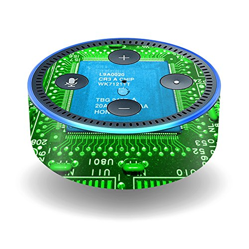 MightySkins Skin for Amazon Echo Dot (2nd Gen) - Circuit Board | Protective, Durable, and Unique Vinyl Decal wrap Cover | Easy to Apply, Remove, and Change Styles | Made in The USA