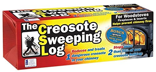 Csl Lighting Creosote Sweeping Log For Fireplaces (Pack o...