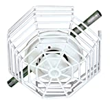Safety Technology International, Inc. STI-9602 Steel Web Stopper, 9 Gauge Corrosion Resistant Polyester Coated Cage, Surface Mount, 4.25