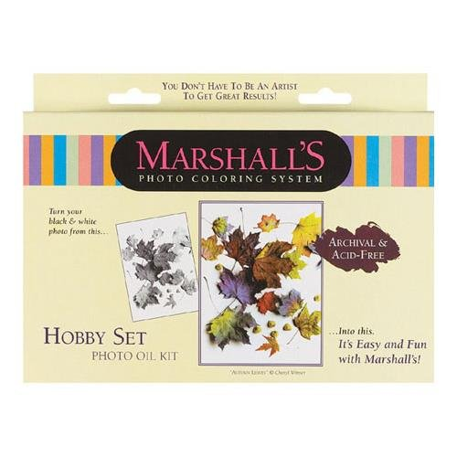 Marshall Hobby Oil Set, for Hand Coloring Black & White and Color Photographs