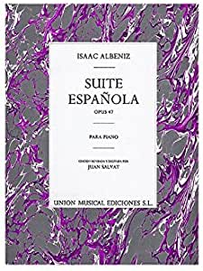 Isaac Albeniz: Suite Espanola Op.47. Partituras para Piano: Amazon ...