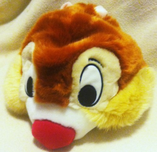 Disney Chip N Dale, Dale Plush Hat Youth Size, Dale Head, Great Halloween Easter Costume Accessory ()