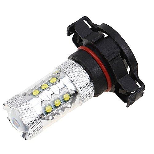 Possbay - H1 80 W bombillas LED Super brillante lámpara bombillas Canbus coche bombillas de repuesto, azul: Amazon.es: Iluminación