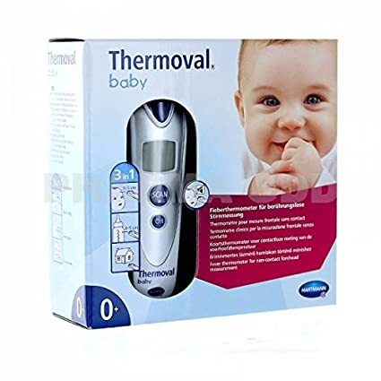 Hartmann - Thermoval Baby thermometro technologia Infra rojo - Medida SIN CONTACTO + Un HOCHET tout