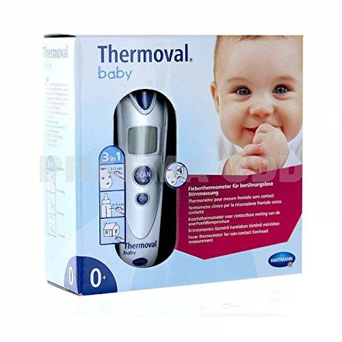 Hartmann - Thermoval Baby thermometro technologia Infra rojo - Medida SIN CONTACTO + Un HOCHET tout DOUX … 3263-654