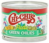 Chi Chi's Green Chilies Diced, 4.25-Ounce Units (Pack of 12)