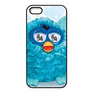 Happy Blue lovely animal Cell Phone Case for Iphone 5s