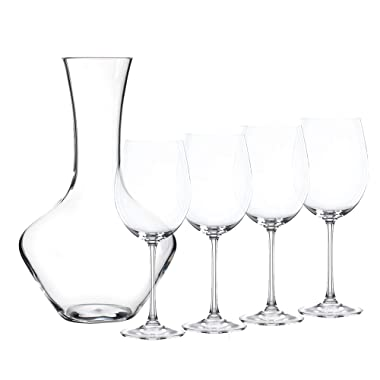 Nachtmann 93605 Vivendi Decanter with Glasses, Clear