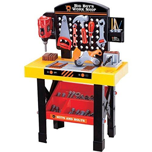 World Tech Toys Big Boys Tool and Ben Ch Work Shop Playset