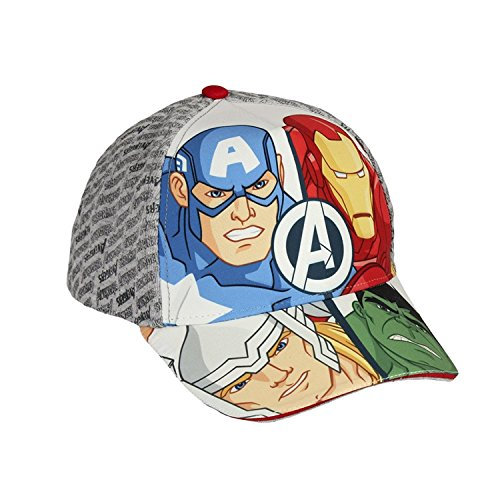 Marvel Junior Cap Hat Kids Avengers Cap America Thor Iron Man Hulk Boys - Ironman Hats