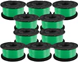 Black & Decker (10 Pack) SF-080 Auto Feed Spool Single Line Trimmer Fits GH3000