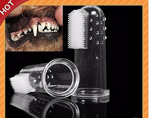 New Pet Toothbrush for Dogs and Cats -Sensitive Dental Hygiene Care Brush Keeps Teeth & Gums Clean, Healthy, and Shiny 5pcs
