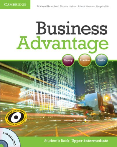 Business Advantage Upper-intermediate Student's Book with DVD (Business Advantage Students compare prices)