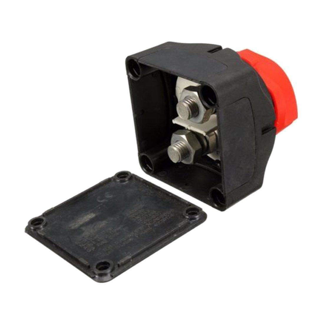 Semoic Removable Knob Marine Battery Isolator Cut Off Kill Switch Boat 12V//24V//48V