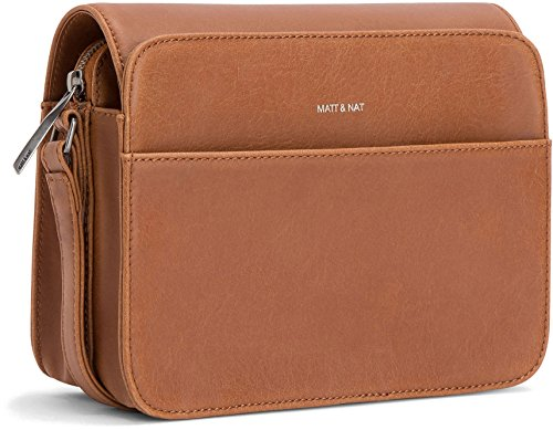 Matt and Nat Elle Vintage Crossbody Bag, Chili