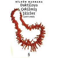 Daktiloya Çekilmiş Şiirler: (1977 - 1987)