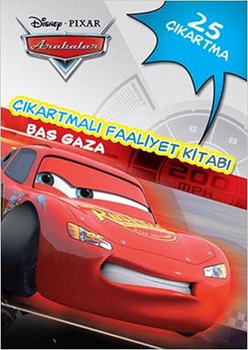 Disney Arabalar Cikartmali Faaliyet Kitabi Bas Gaza Kolektif