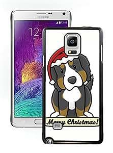 Popular Design Christmas Dog Black Samsung Galaxy Note 4 Case 17