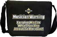 Music Notation Forgive Me - Sheet Music Document Bag Musik Notentasche...