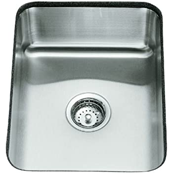Kohler K 3334 Na Undertone Single Basin Undercounter Kitchen Sink Stainless Steel