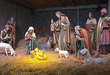 amazon com ofila nativity of jesus backdrop 5x3ft manger christ