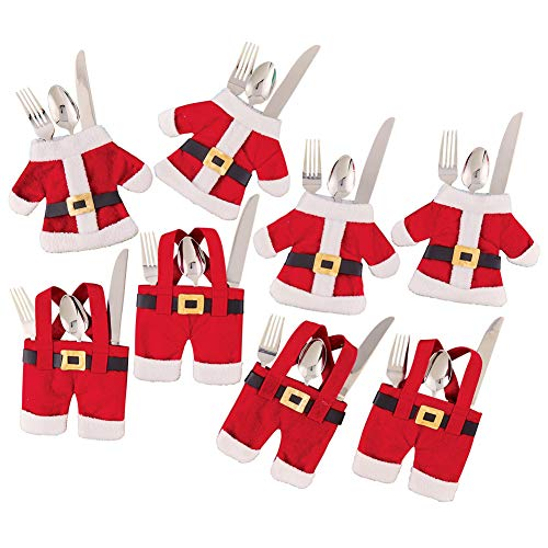 S6 Santa Flatware Holders by Collections Etc (Image #3)