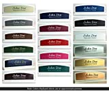 Personalized Modern Sleek Office Desk Name Plate - 1/4