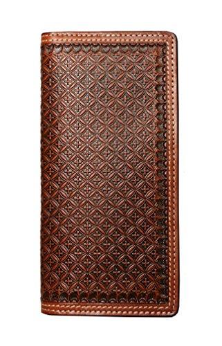 Ranger Belt Company Brown & Black Cross Print (C1173)