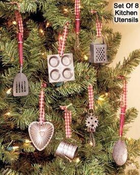 Amazon Com Miniature Kitchen Utensils Christmas Tree