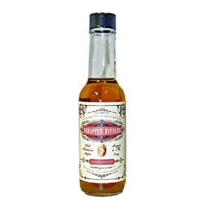 Scrappy's Bitters - Grapefruit, 5 ounces - Organic Ingredients, Finest Herbs an Zests, No Extracts, Artificial Flavors, Chemicals or Dyes. Made in the USA