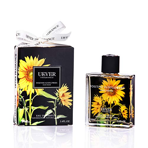 Women's Perfume Positive Sunflowers of Series Floral Perfumes For Women By Uever, EDP 3.4 Fl.Oz