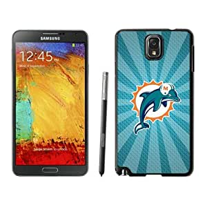 NFL&Miami Dolphins 05 Samsung Galalxy Note 3 Case Gift Holiday Christmas Gifts cell phone cases clear phone cases protectivefashion cell phone cases HLNB605584998