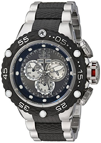 Invicta Men's 'Subaqua' Swiss Quartz Stainless Steel Casual Watch, Color:Two Tone (Model: 21673)