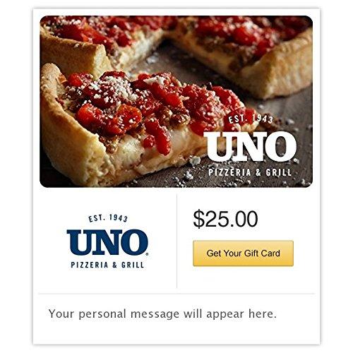 Uno Pizzeria & Grill Pizza Gift Cards - E-mail Delivery