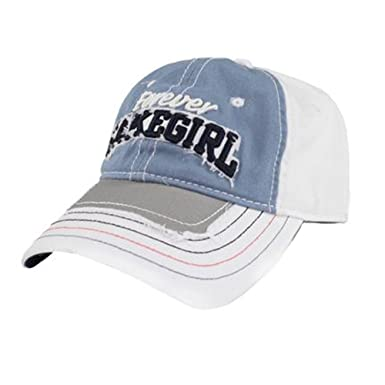 db29ee574a21 LAKEGIRL Womens Jeanie Mesh Back Adjustable Ball Cap (Sky) at Amazon Women's  Clothing store:
