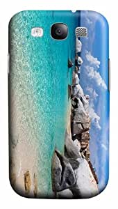 protective case Blue Water Beach PC case/cover for Samsung Galaxy S3 I9300