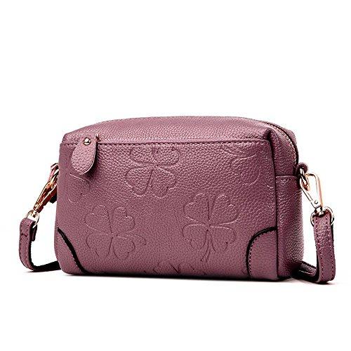 Aoligei 0 porte-monnaie femme Soft cuir grande capacité mère main clocharde messenger sac en bandoulière E
