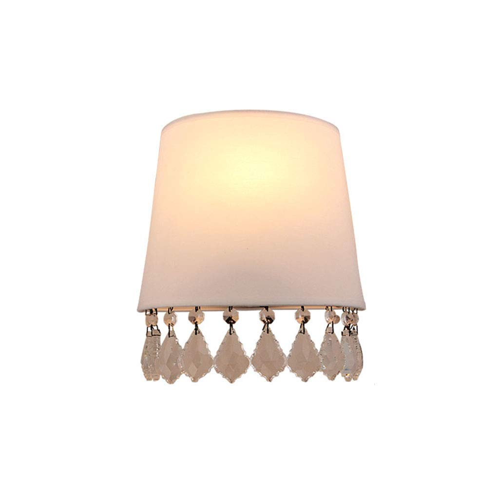 Unbekannt $Wall lamp Light Wandleuchte Kristallgewebe E14 Schlafzimmer Wohnzimmer Kinderzimmer Wandleuchte Wanddekoration Lichter