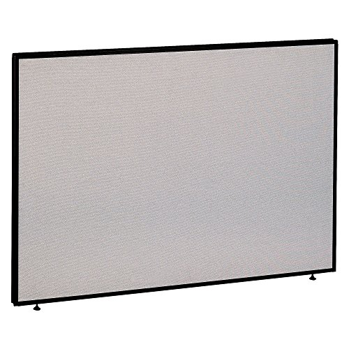 Hutch Modular Office Furniture - Bush Business Furniture ProPanels - 42H x 60W Panel in Light Gray/Slate