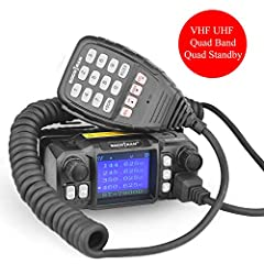 If you like hunting or road trip the Socotran mobile radio is a good helper; if you work in group like security and transportation the Socotran mobile radio is also a good helper because of its loud clean voice, clear reception, good transmit...