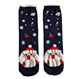 On Sale! WEUIE Christmas Women Cotton Socks Multi-Color Women's Winter Socks A(Free Size, B)