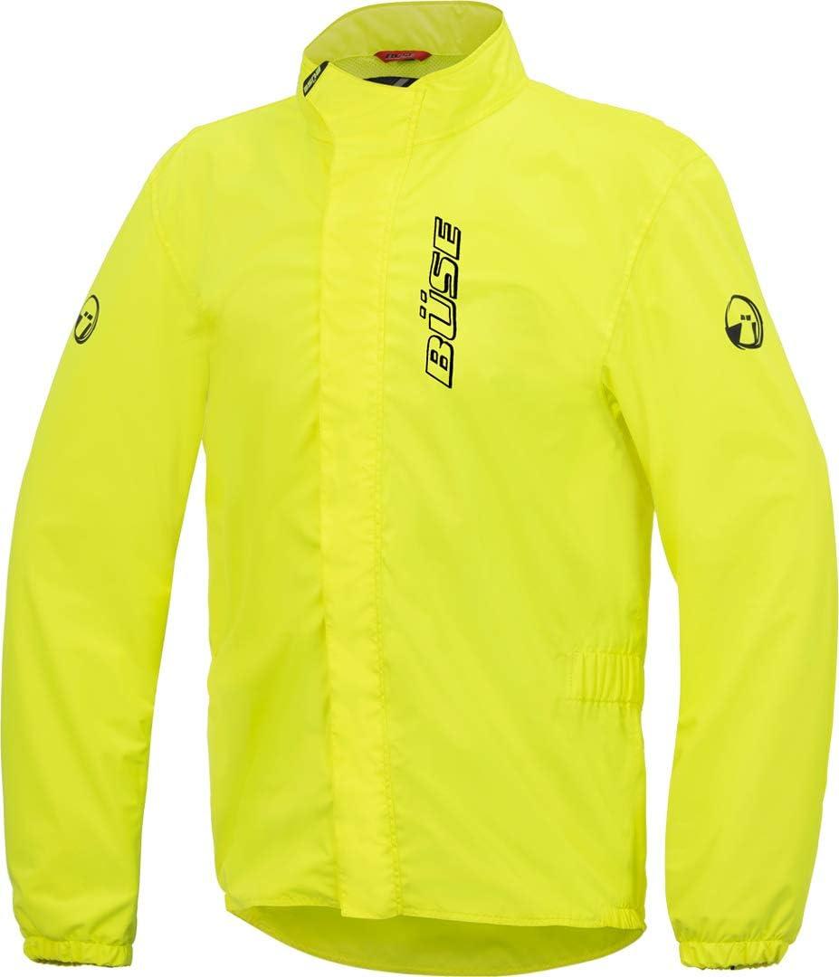 B/üse Aqua Regenjacke Neon-Gelb 10XL